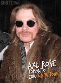 Axl Rose au Canada