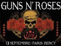 L'affiche de GN'R à Bercy 2010