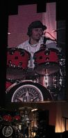 Brain live avec Guns N' Roses à New York en mai 2006