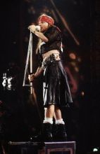 Axl Rose live au Freddie Mercury Tribute en 1992