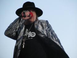 Axl Rose live à Helsinki en Finlande en 2010