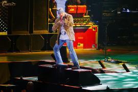 Axl Rose live à Moscou en Russie le 8 juin 2010