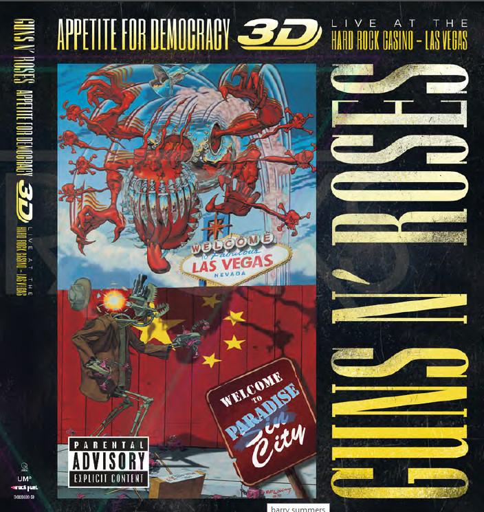 Appetite for democracy guns n' roses cover