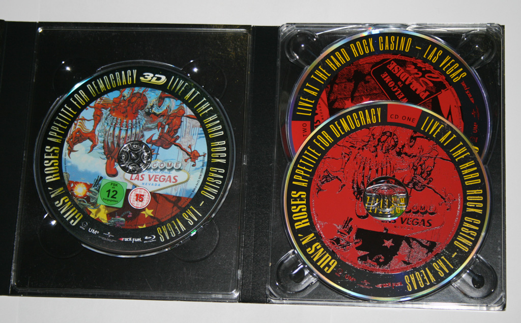 Appetite For Democracy boxset Guns N' Roses