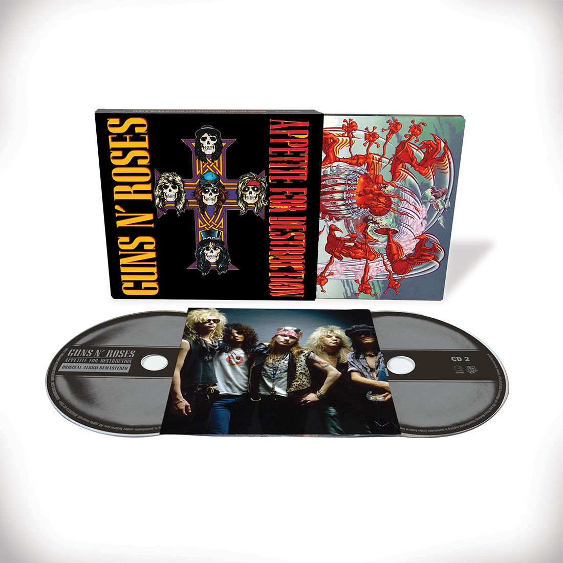2CD deluxe appetite for destruction