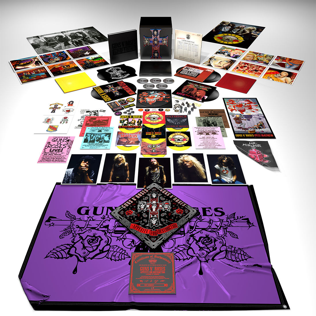 appetite for destruction locked n loaded edition