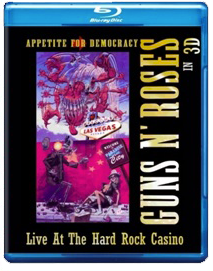 Artwork dvd vhs appetite for democracy in 3D blu ray cover