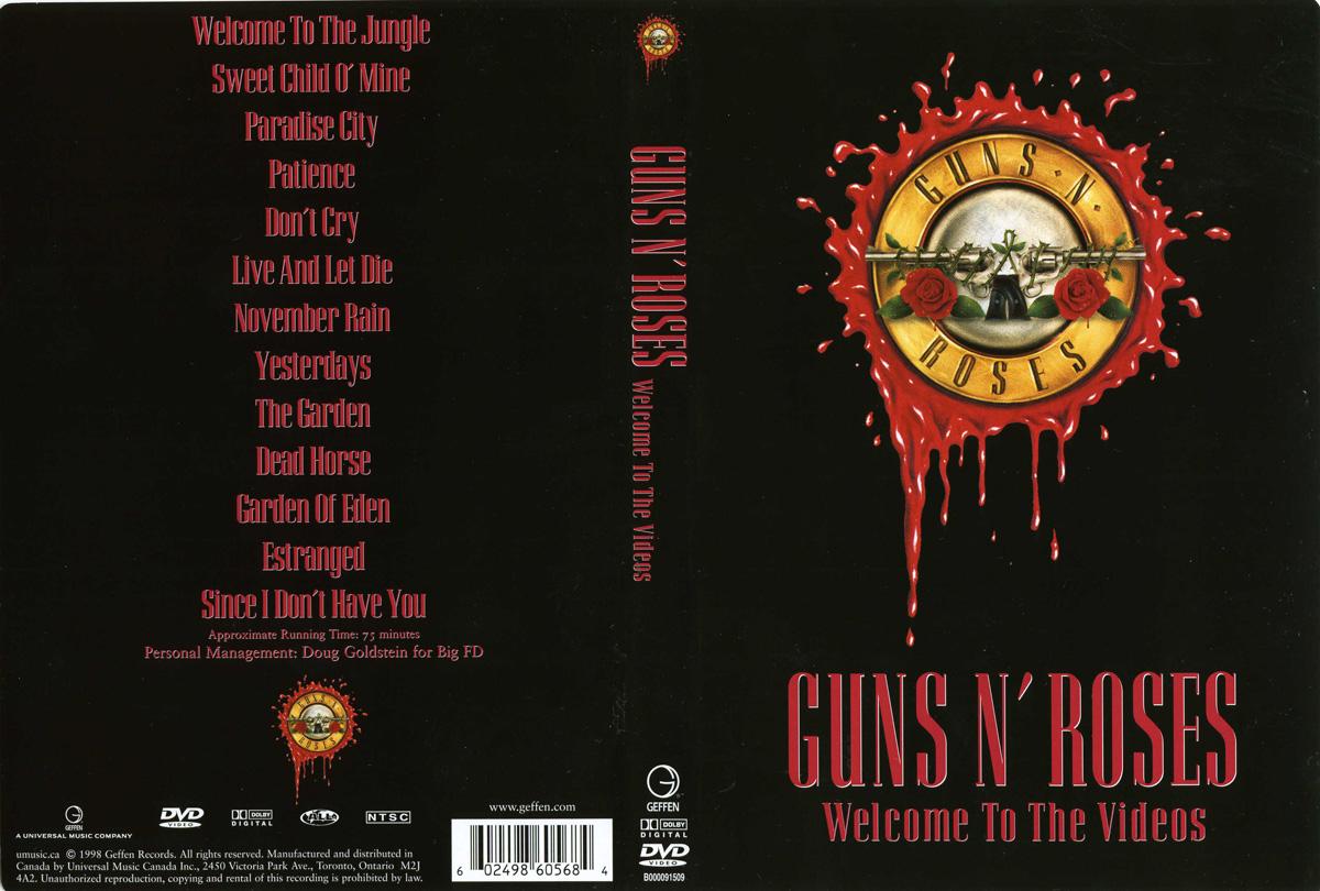 clips de guns n 39 roses en dvd. Black Bedroom Furniture Sets. Home Design Ideas