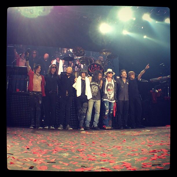 Guns n roses tour dates in Brisbane