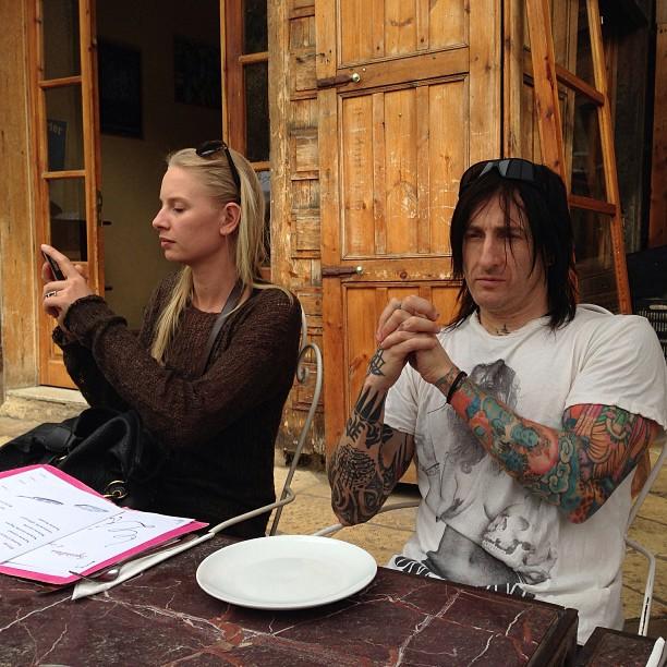 Richard Fortus and Jen Fortus - Dating Gossip News Photos