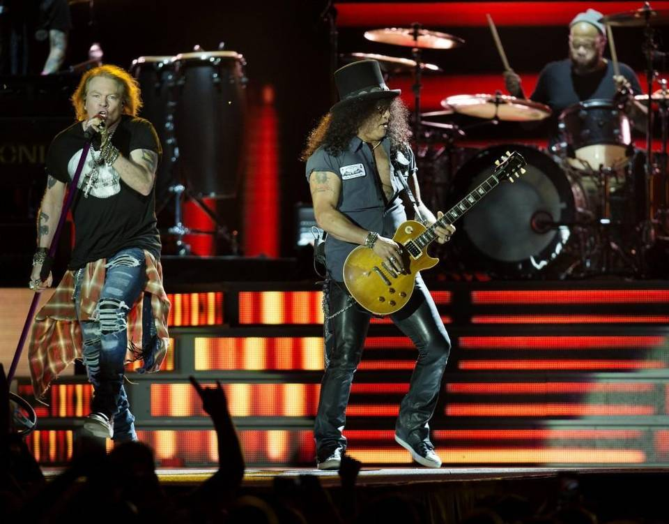 Slash axl kansas city 2016
