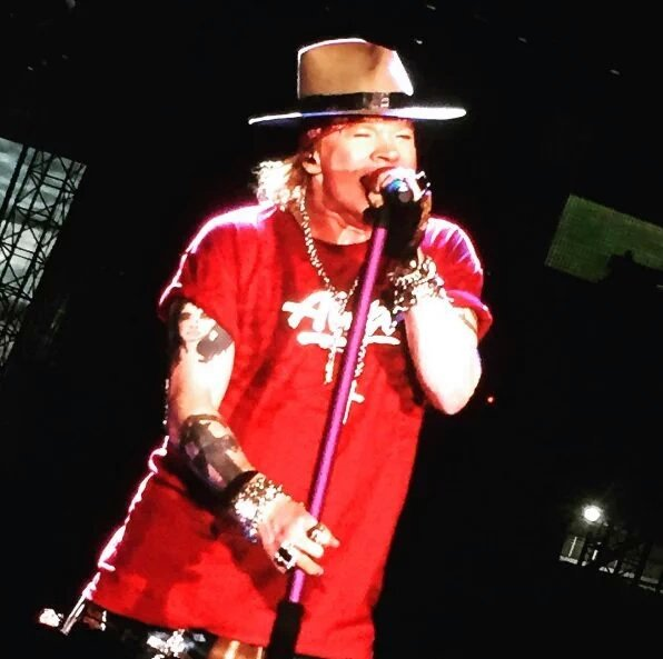 axl rose live east rutherford 23 juillet 2016