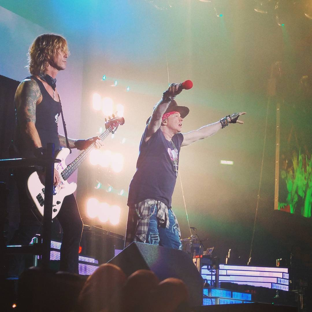 Duff axl rose mexico city 2016