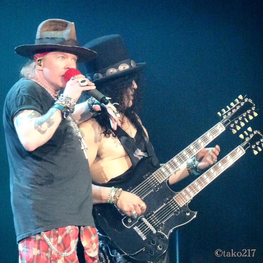 axl rose slash live 2016