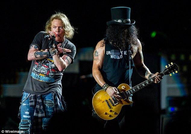 Photos de Guns N' Roses > Concerts - 2017 - 0207 Brisbane