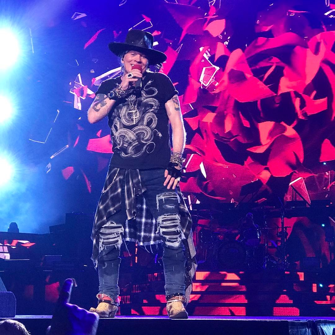 axl rose live sydney 2017 second show