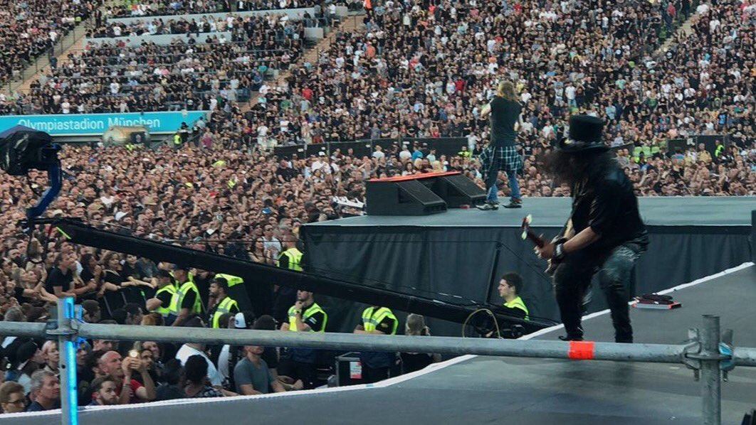 Guns n' Roses munich 2017