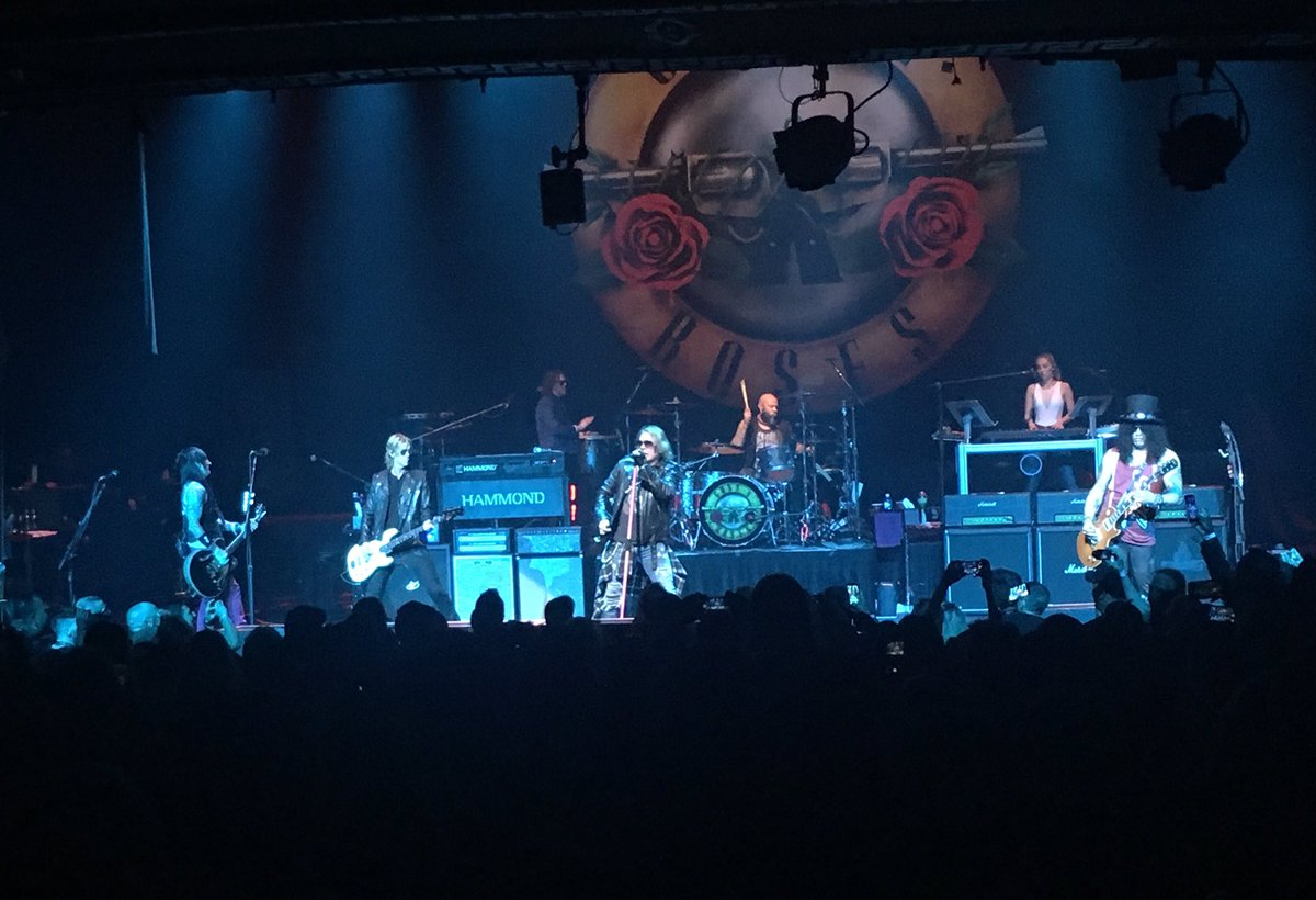 Guns n' roses apollo new york city 2017