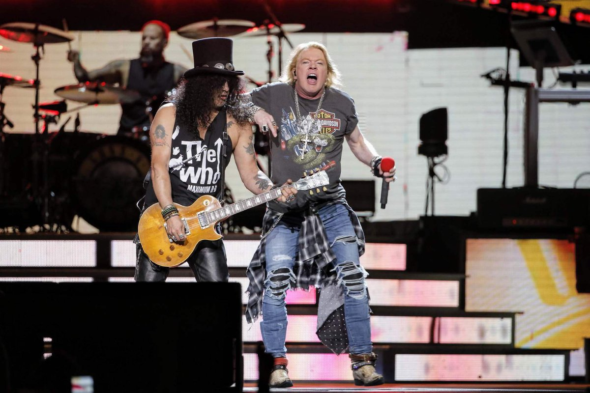 Deuxi Me Concert De Guns N 39 Roses Au Madison Square Garden De New York Vid Os Setlist Et Photos