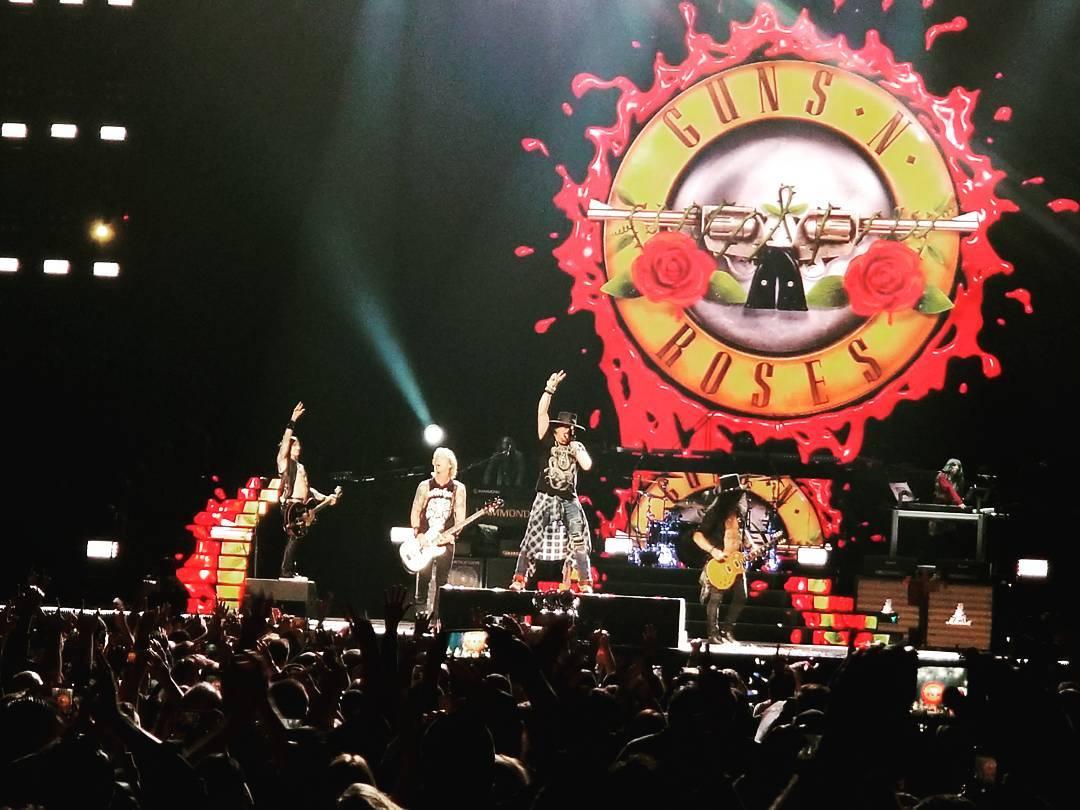 3 Me Et Dernier Concert Des Guns Au Madison Square Garden Toutes Les Infos Setlist Photos Videos