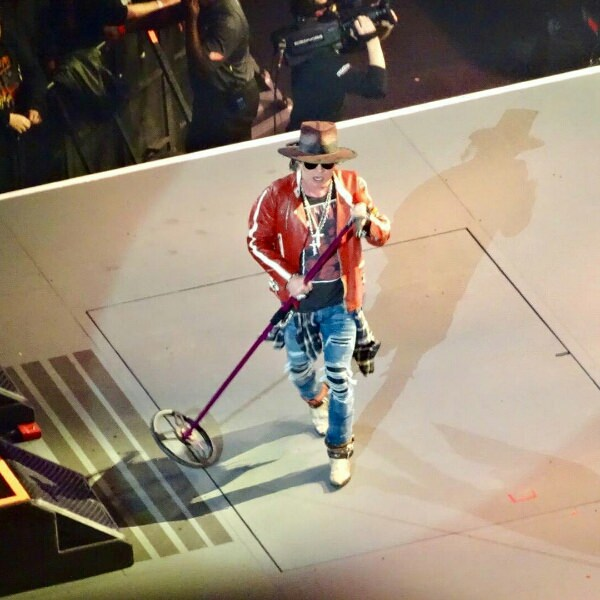photo axl rose detroit 2017