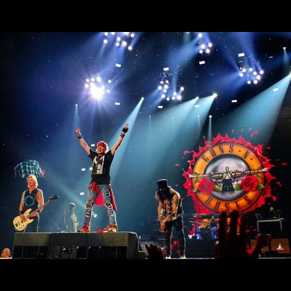 photo guns n roses live los angeles 2017 first show