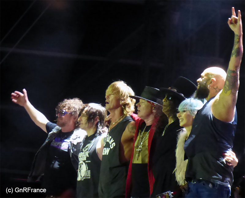 Guns n' roses france download 2018