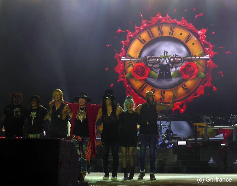 Slash france guns n' roses bordeaux 2018