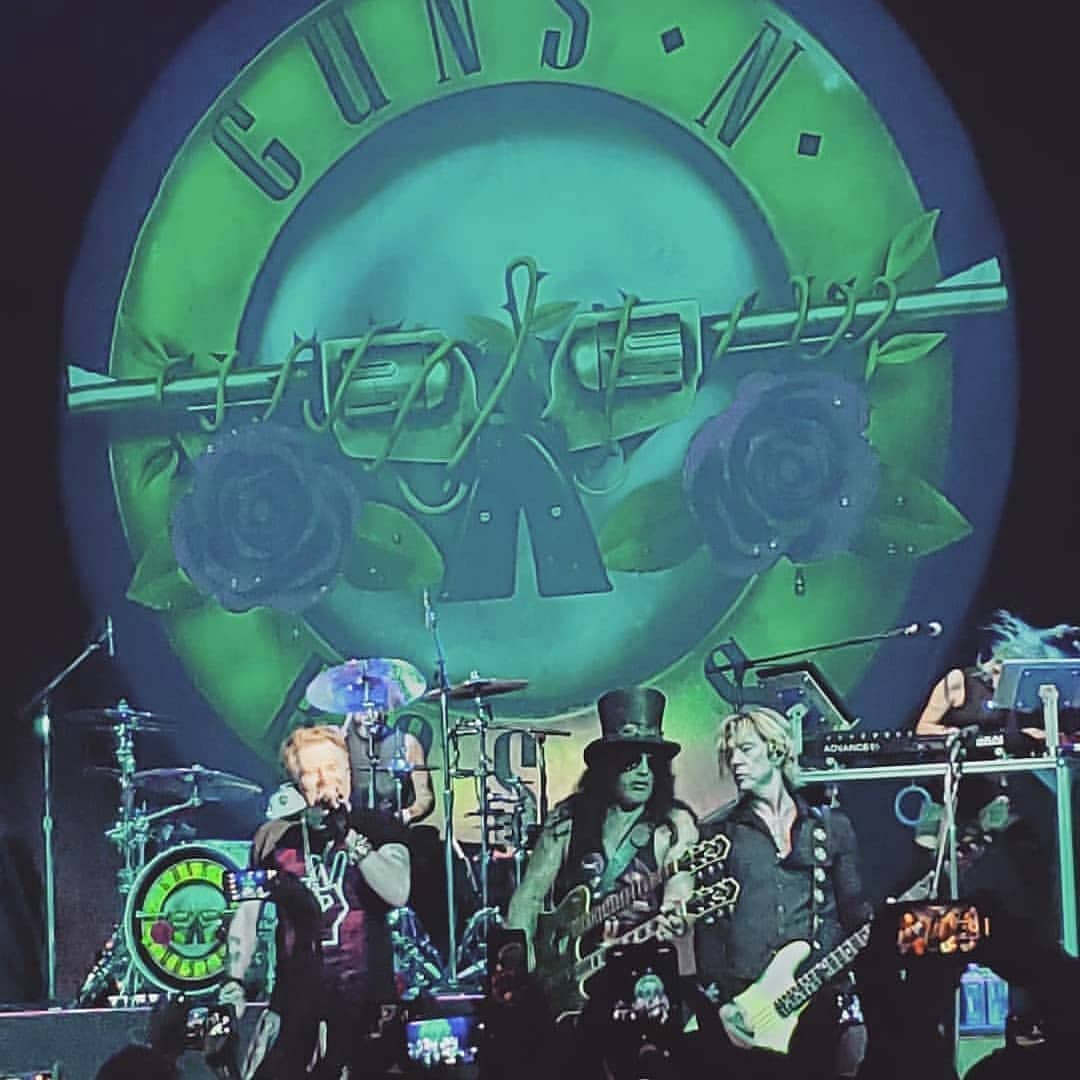 Guns n roses hollywood palladium 2019