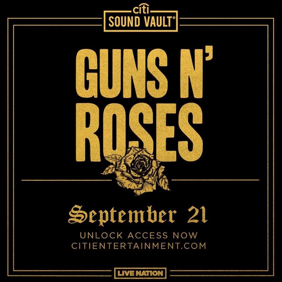 Guns n' roses hollywood Palladium 2019