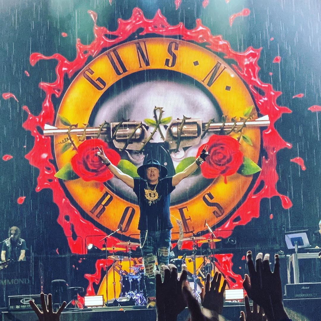 axl rose live new orleans 2019