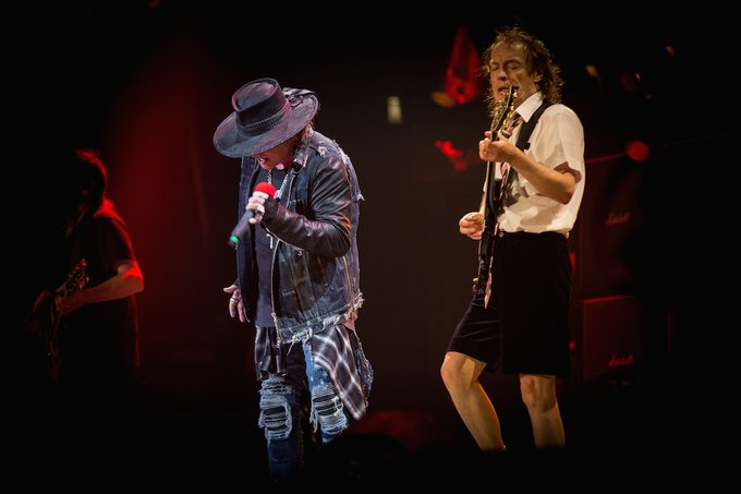 AXl rose ac/dc ft lauderdale 2016 usa