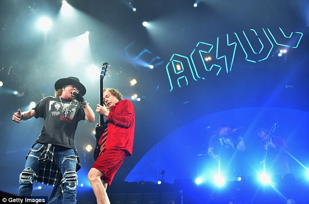 axl rose angus young new tork 2016