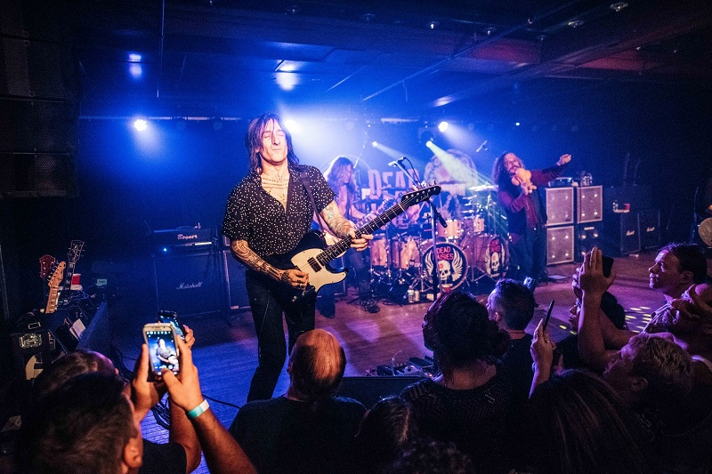 dead daisies new york city fortus