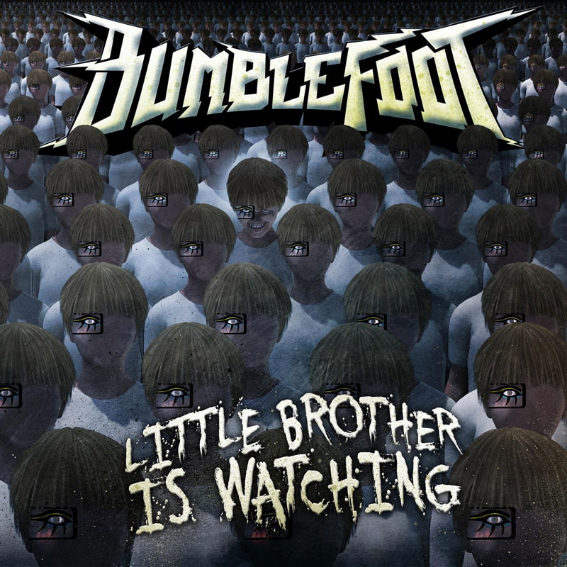 Ron Bumblefoot Thal Little Brother Is Watching cover