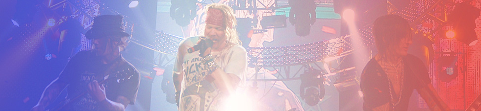 Guns N' Roses Tournée France 2012