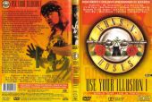 Artwork dvd vhs live in tokyo use your illusion1 brazil