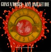 Artwork vinyles live and let die single limited edition