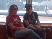Dizzy Reed D.J. Ashba interview Moscou 2012