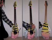 Guitares gear ron thal bfoot flying foot guitar