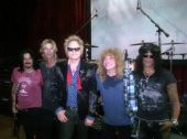 Gilby Duff Matt Steven Slash Hall of Fame 2012