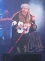 Axl Rose live Hong Kong 2002